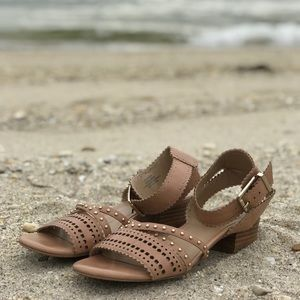 Sole Society nude sandals